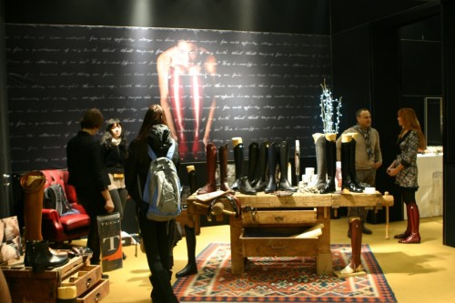 The Tucci showroom