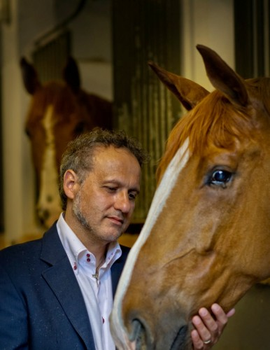 Franco — passionate about horses.