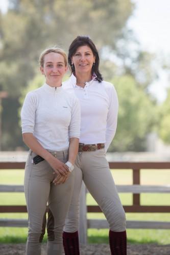 Susan Artes and Sophie St. Clair Photo by Bret St. Clair