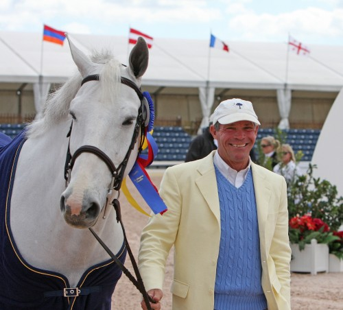 Bruce owned top international horses in several disciplines, among them eventing, show jumping and driving.  Photo by Kenneth Kraus/PhelpsSports.com