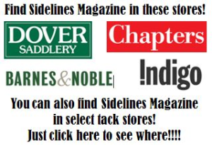 Sidelines Magazine is available at Barnes & Noble, Dover