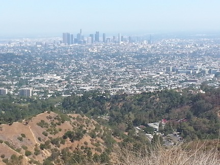 The view of Los Angeles from the back of a horse. On a clear day you can see … almost forever!