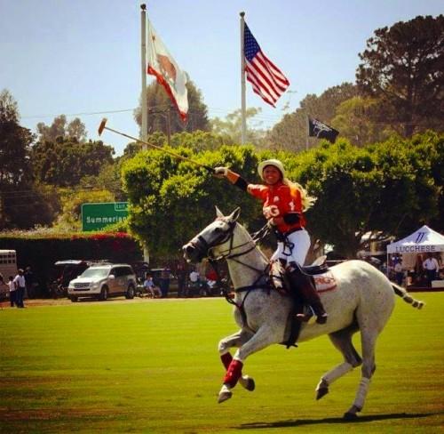 Kerstie in action in Santa Barbara  Photo by Abraham Hernandez