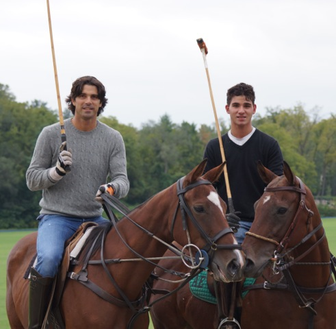 Nacho Figueras and Alex Ebel