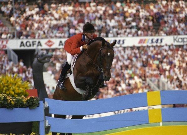 Anne and her Olympic partner Starman. (Photo courtesy of Anne Kursinski)
