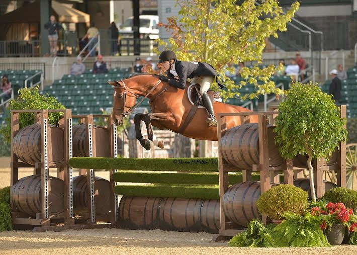Emma on Donato (Photo by Shawn McMillen Photography)