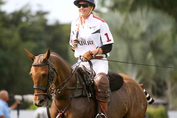 Playing against the Valiente polo team. (Photo by Sheryel Aschfort, The Polo Paparazzi)
