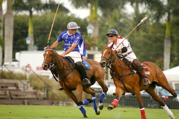 The thunder of hooves during the game. (Photo by Sheryel Aschfort, The Polo Paparazzi)