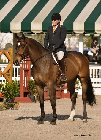 Bo Hopson competing Gentleman Jack. (Photos by Shawn McMillen Photography)