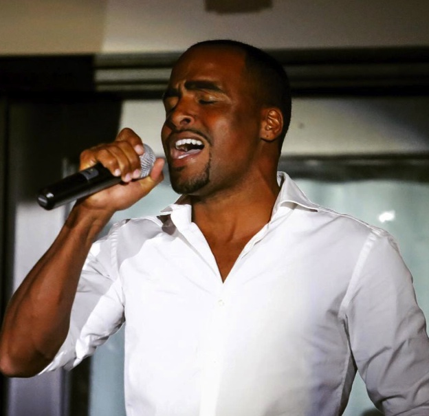 Ki-Juan in the third annual Equestrians Got Talent singing competition. (Photo by Phelps Media Group)