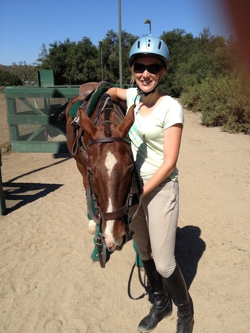 The perfect birthday gift for a grown-up horse girl: a polo lesson! (Photos courtesy of Susan Friedland-Smith)