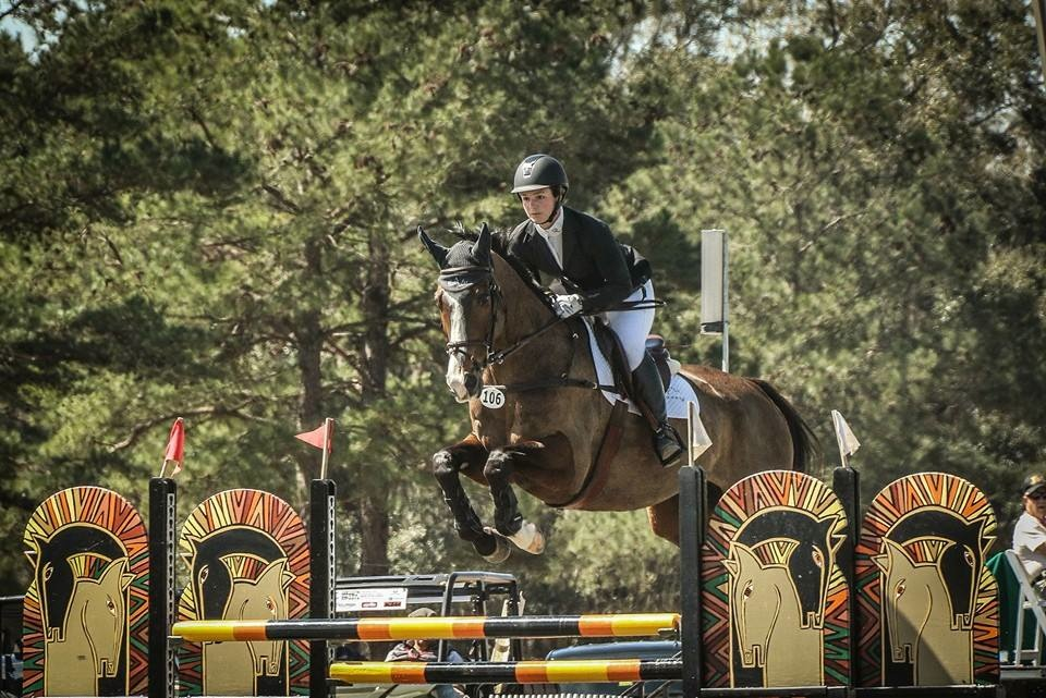Leah Lang-Glusic and AP Prime in action. (Photo by Cindy Lawler)