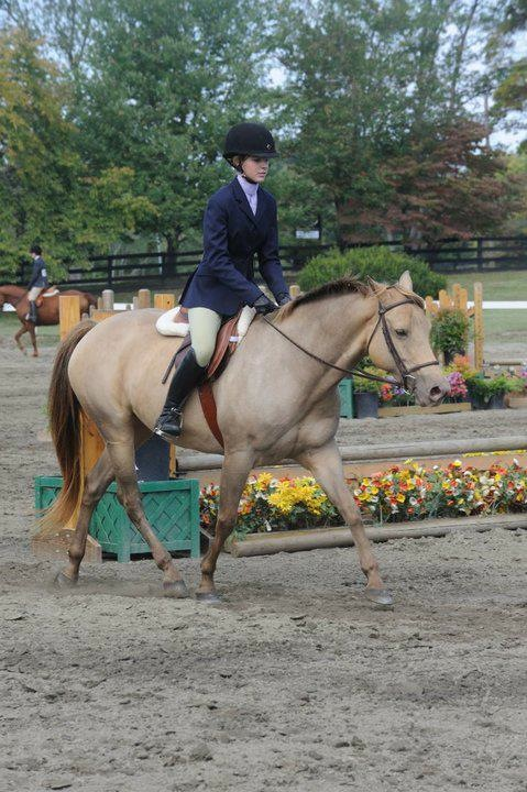 Flashback to Emily and Faith showing. (Photo courtesy of Emily Lunsford)