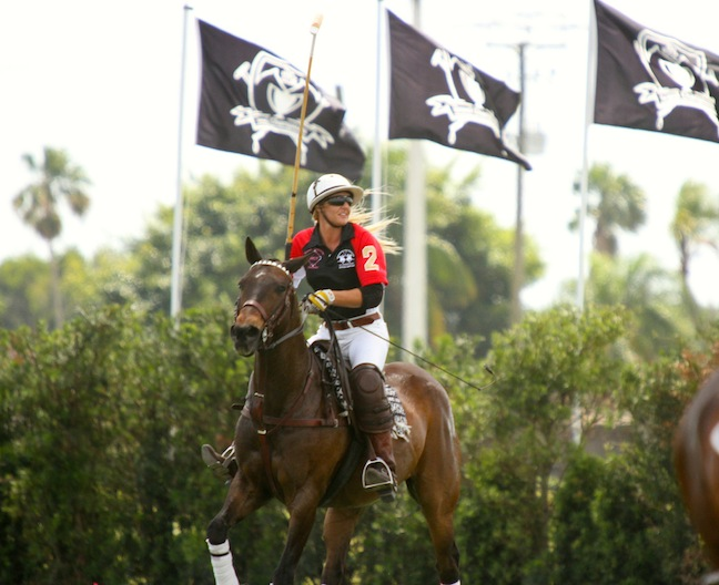 Pepsi and Kerstie share a partnership on the field. (Photo by Sheryel Aschfort, The Polo Paparazzi)