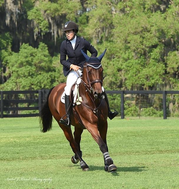 Brianne at the 2015 Live Oak International Grand Prix in Ocala, Florida. (Photo by Isabel J. Kurek Photography)