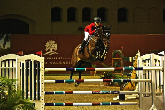 Chenoa and Coco Collette RC, at the Del Mar World Cup Qualifier. (Photo by Sharon McElvain)