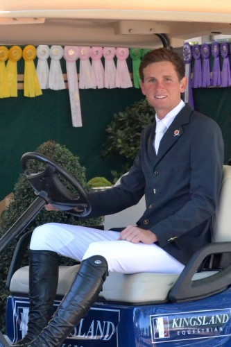 Spencer at the 2015 Winter Equestrian Festival.