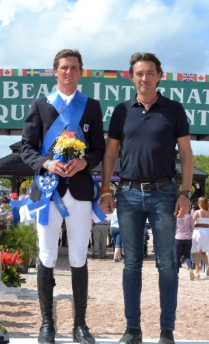 During the Young Rider Nations Cup, Spencer was joined by Gianluca Caron, Kingsland North American manager.