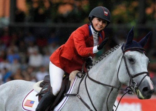 Georgina Bloomberg loves the fit and the look of her Samshield.