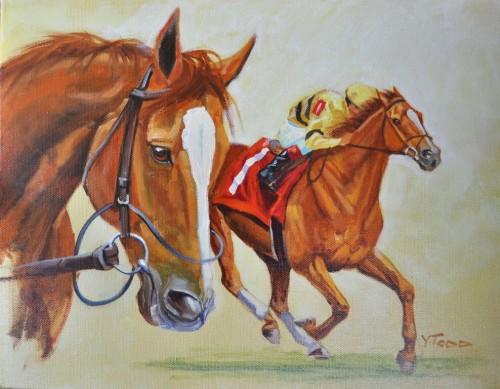 Wise Dan, 11' x 14', Oil on Canvas