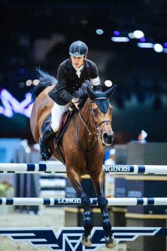 Scott was youngest member of Great Britain's 2012 Olympic Show Jumping team, bringing home team gold and finishing fifth in the individual competition. Photo by Bret St.Clair