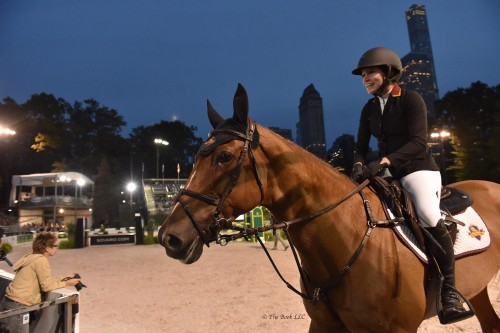 Carly and Zelaleen — 5th place in the Rolex Central Park Invitational.  Photo by The Book LLC