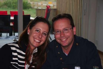 JJ and her husband Richard.