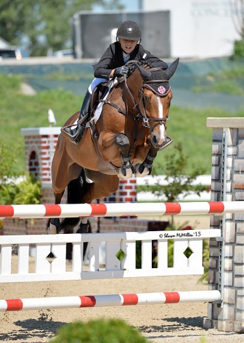 Taje and Drommels in Kentucky competing in the High Children's. Photo by Shawn McMillen Photography