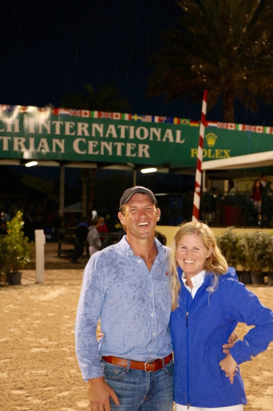 Javan and Sandra at the Winter Equestrian Festival in 2015. Photo by Brian Walker