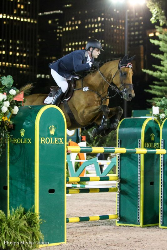Peter showing in Central Park. Photo by Phelps Media Group