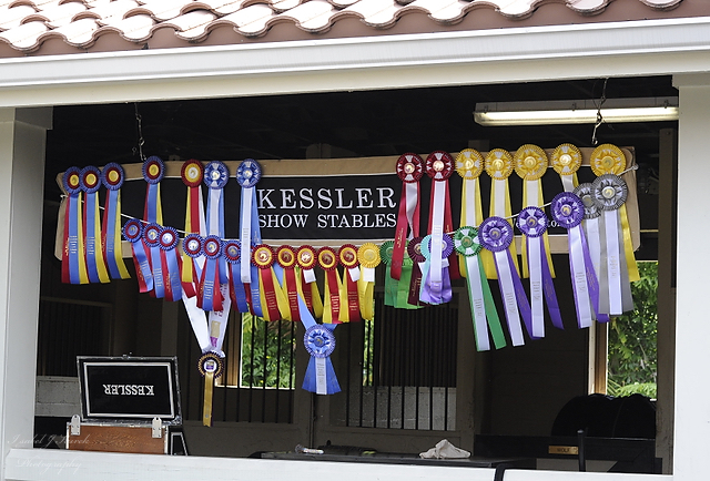 Kessler Show Stables is operated fully by Reed. Photo by Isabel J. Kurek