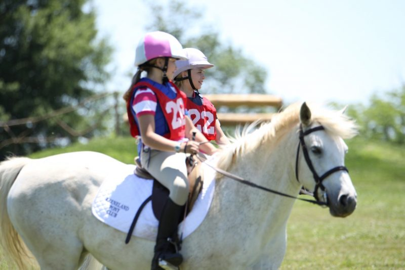Pony Club riders at the Kentucky Horse Park Photo by John Crowell