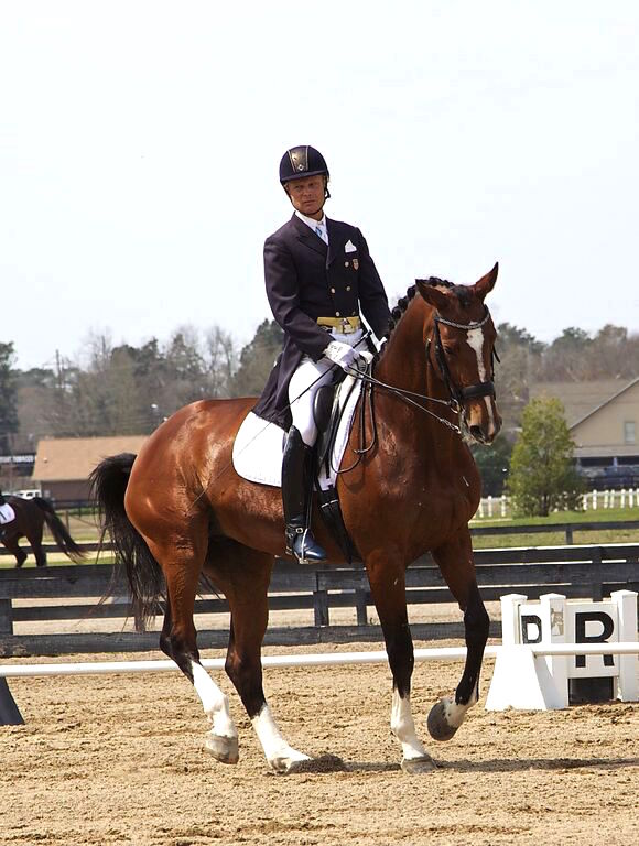 Hokan and Gabrielle competing in Aiken, South Carolina. Photo by Richard Ruben