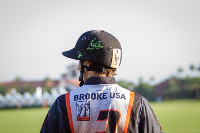 In January Nic became the first polo ambassador for Brooke USA. Photo by Juan Lamarca, juanlamarca.com
