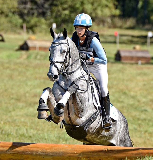 MTF Cooley Caliber and Skyeler competing at Morven Park Horse Trials. Photo by Valerie Durbon