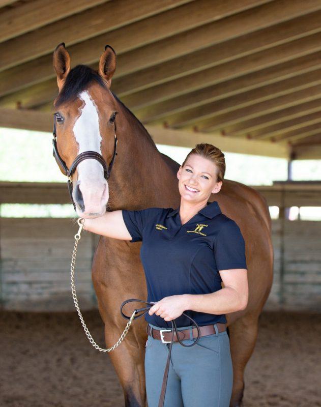 Ida Mattisson with her homebred Swedish horse, Bombastic Moonfyre Photography, moonfyrephotography.com