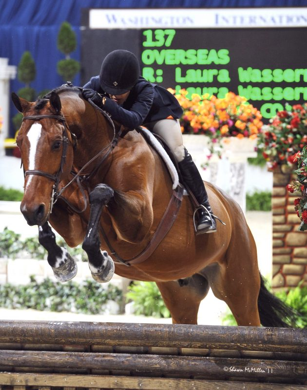Laura and Overseas at the Washington International Horse Show Photo by Shawn McMillen Photography