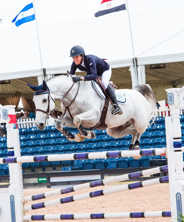 Molly competing at the 2016 Winter Equestrian Festival