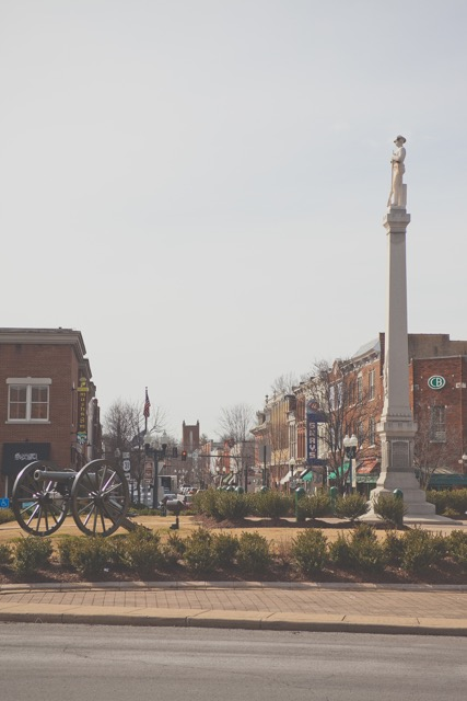 The Public Square of Downtown Franklin, Tennessee