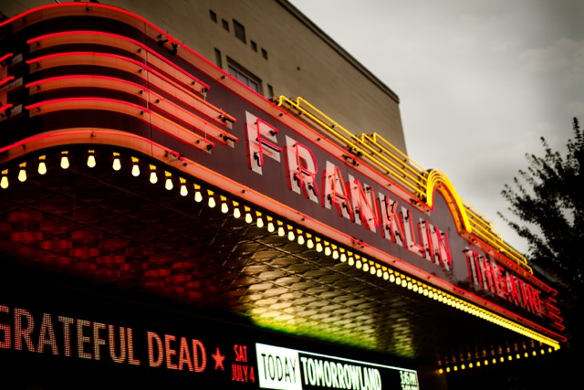 Main Street's Franklin Theatre, newly remodeled but with an eye toward authenticity