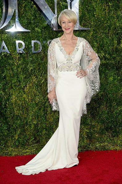 Helen Mirren  Photo courtesy of Badgley Mischka