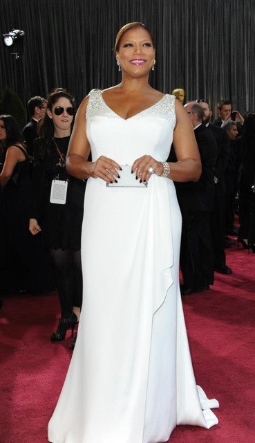 Queen Latifah Photo courtesy of Badgley Mischka