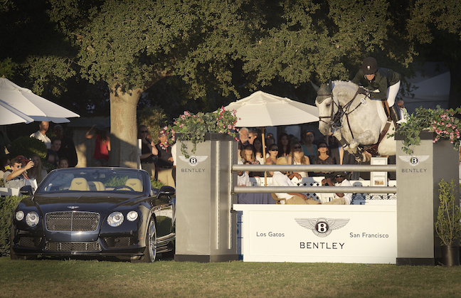 Mandy Porter and Eminent winning the $40,000 Bentley of San Francisco of Los Gatos Grand Prix World Cup at the Menlo Charity Horse Show. Photo by Alden Corrigan Media