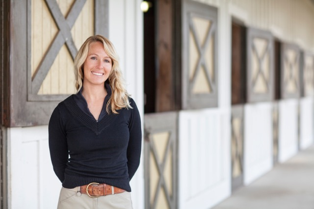 SCAD Equestrian Head Coach Ashley Henry — the secret to SCAD's equestrian success.