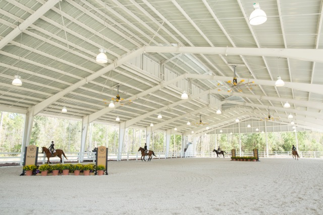 Riders in the SCAD pavilion during the Zone 5 Finals