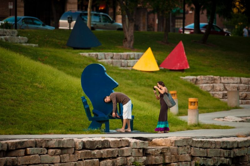 Enjoy the Omaha public art throughout the city.