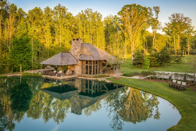Guest house on the Nashville property. Photo by Bruce Cain of Elevated Lens Photography
