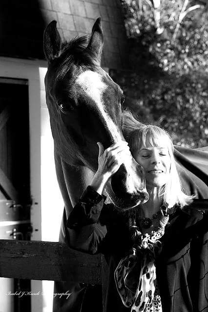 Sasscer's love of horses has greatly influenced her writing.