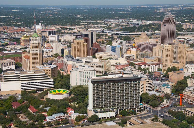 The San Antonio skyline  Photo courtesy of VisitSanAntonio.com