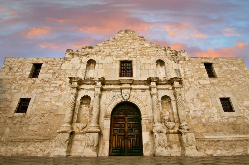 The Alamo, one of San Antonio's many historical sites. Photo courtesy of VisitSanAntonio.com